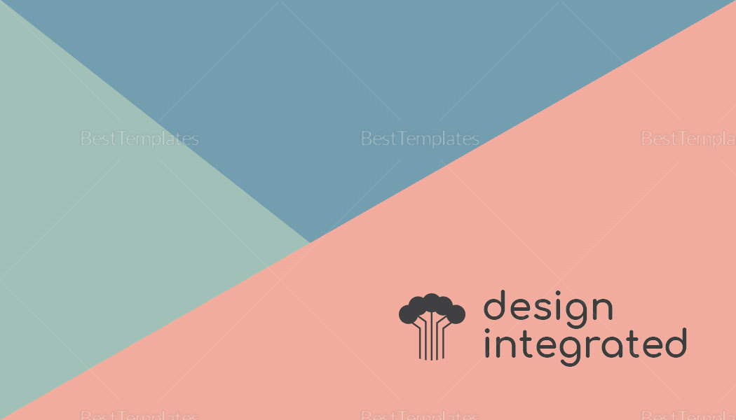 Sample Modern Creative Business Card Template
