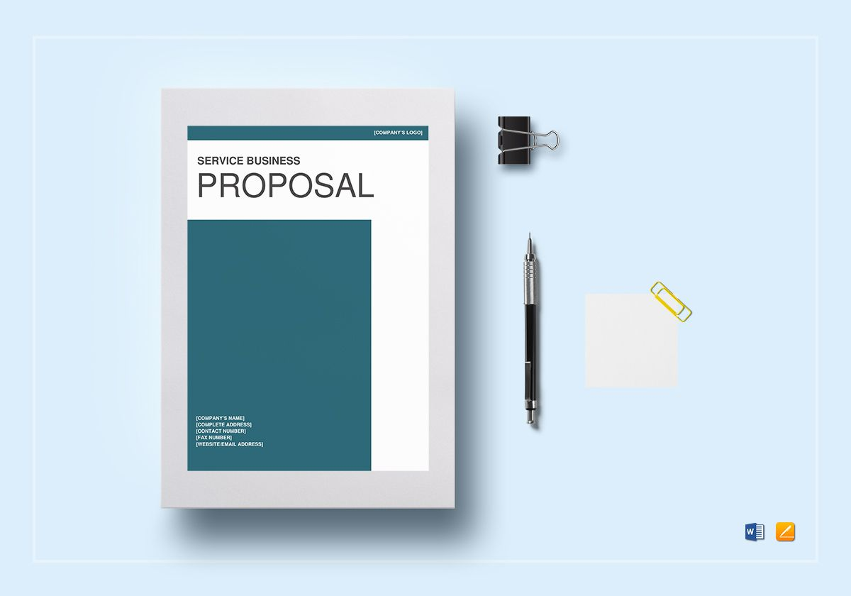 Service Business Proposal Template