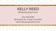 Pink Modern Business Card Template