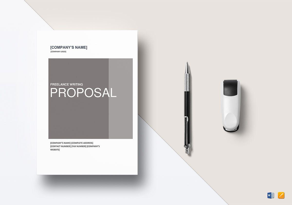 Freelance Writing Proposal