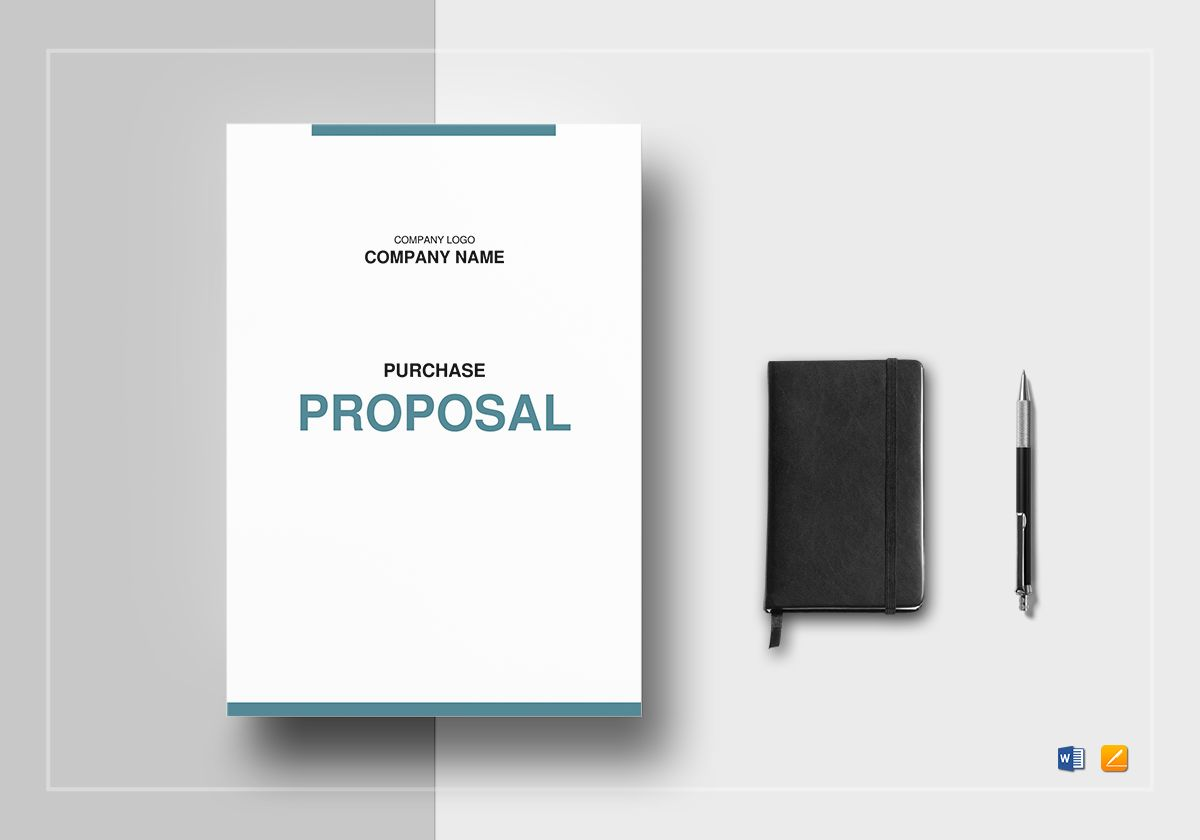 Purchase Proposal Template in Word, Google Docs, Apple Pages