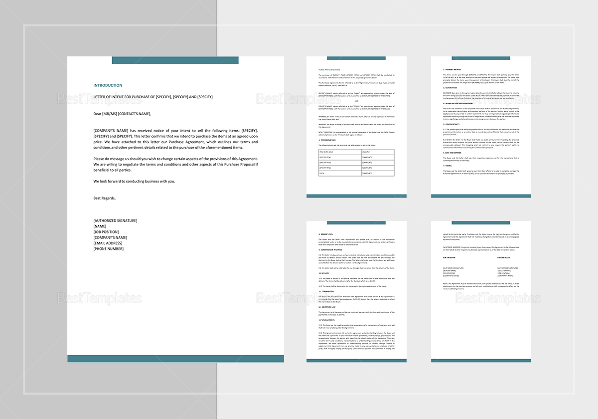 Purchase proposal template in word google docs apple pages purchase proposal template sample purchase proposal template wajeb Image collections