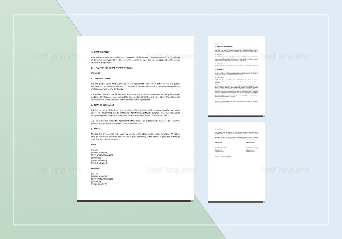 IT Proposal Template to Edit