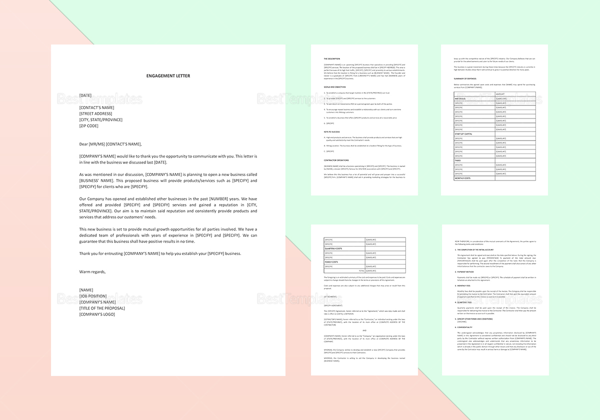 Sample Proposal Outline Template