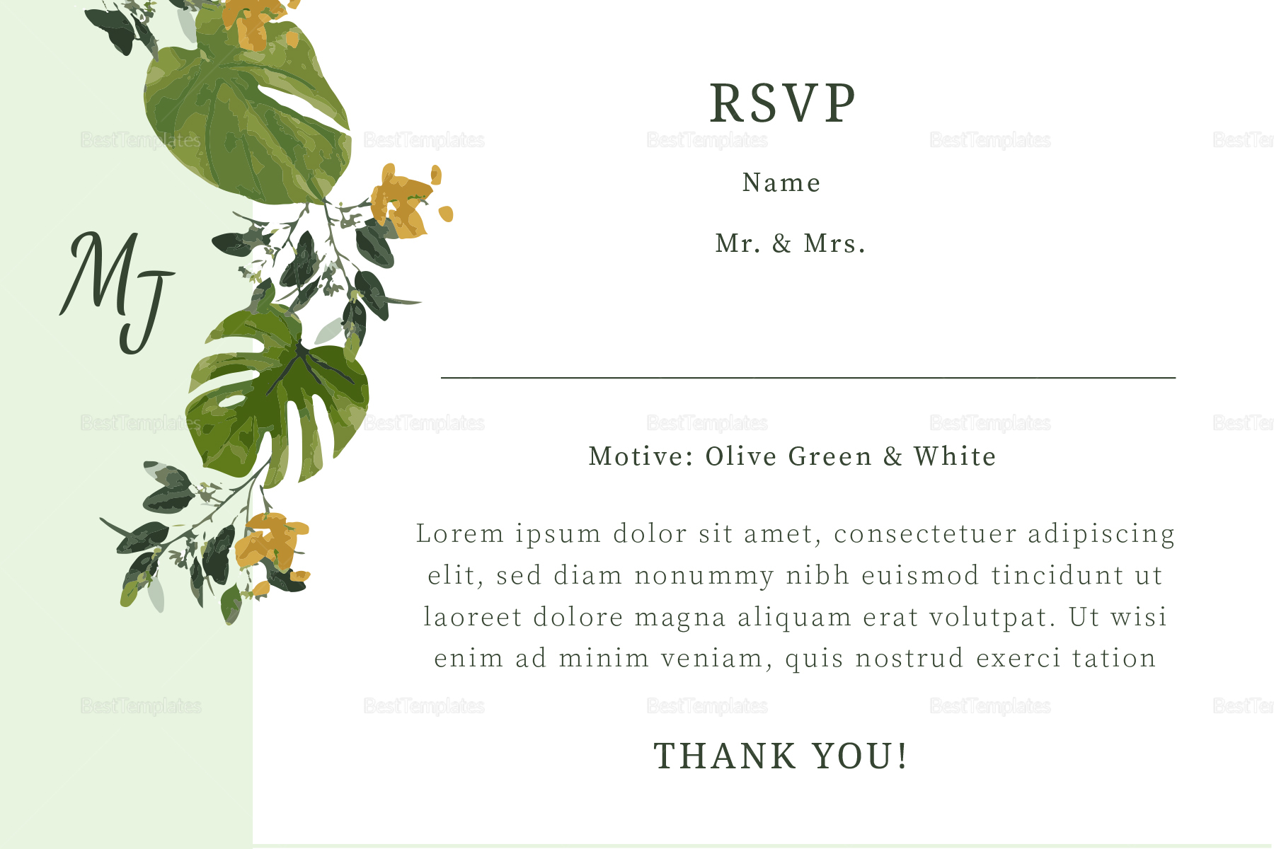 Church Invitation Template