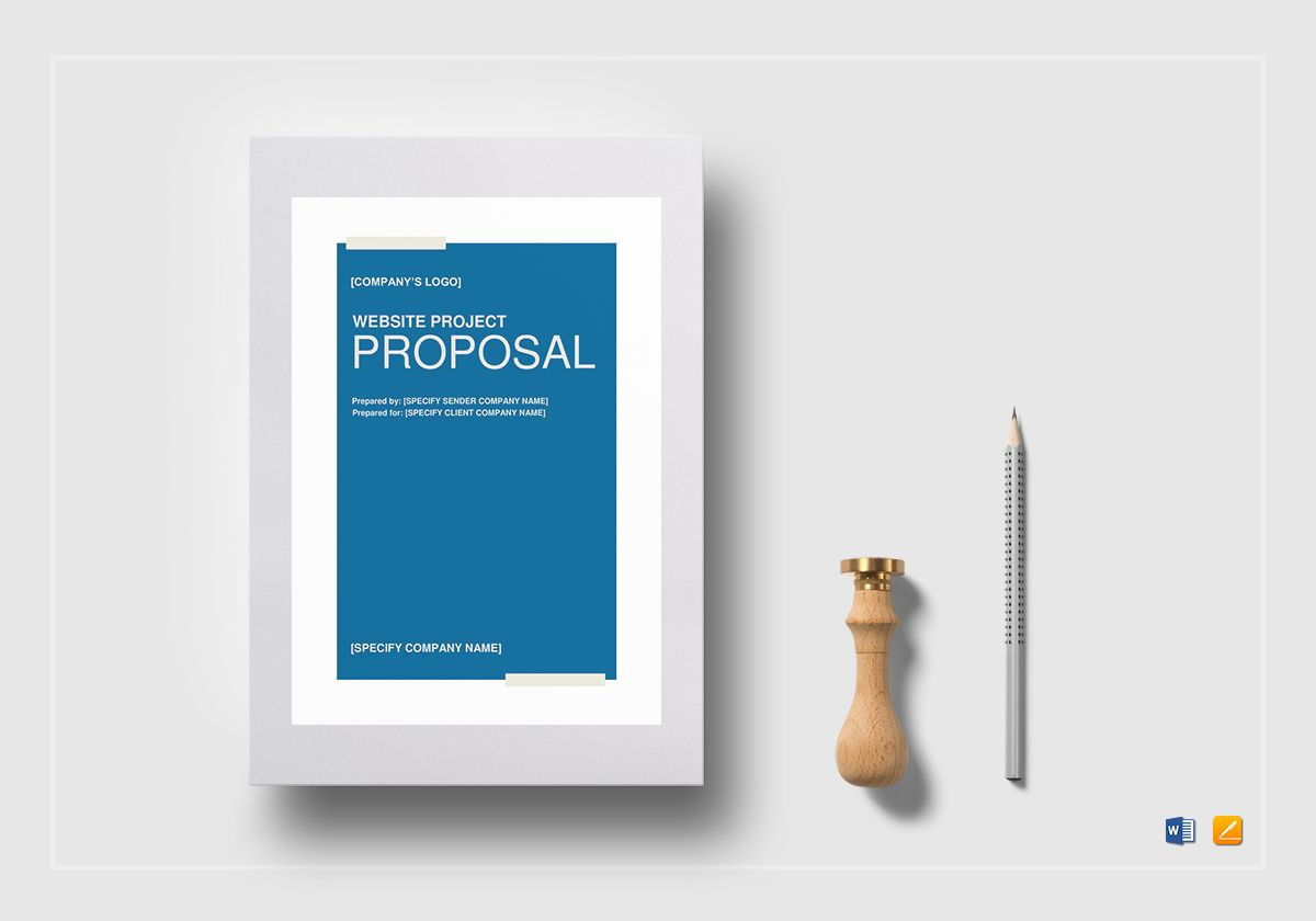 Website Project Proposal Template In Word Google Docs Apple Pages - Project proposal template google docs