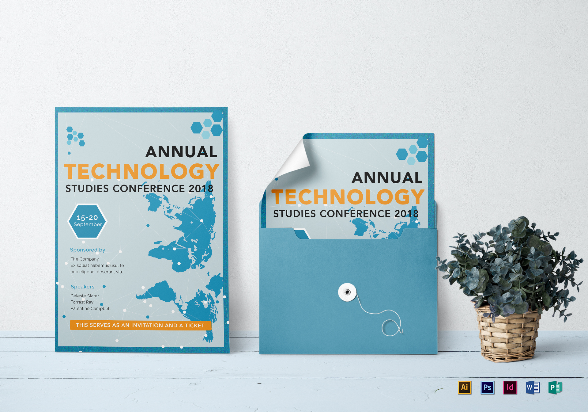 annual conference invitation template