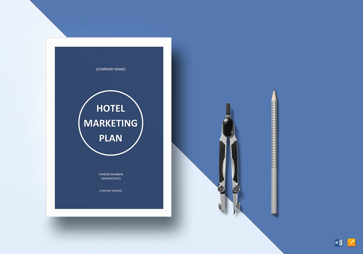 hotel marketing plan template in word google docs apple pages