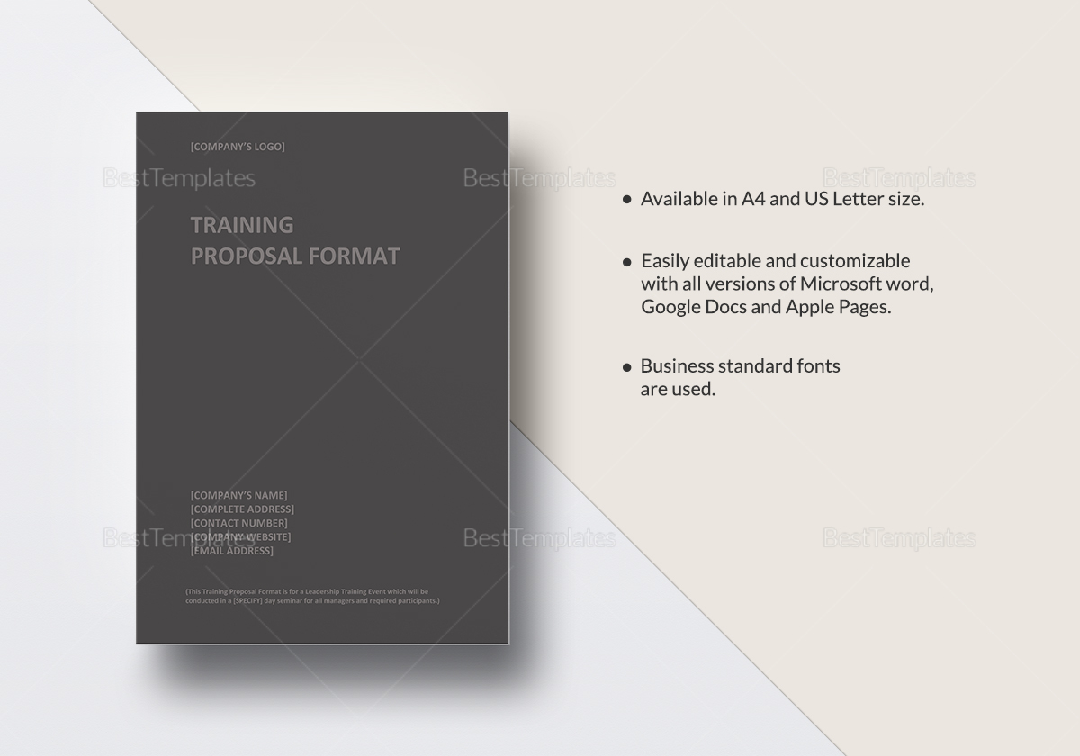 development project proposal template%0A training proposal