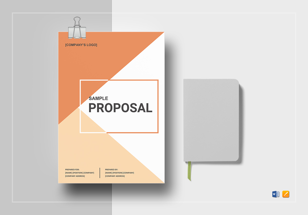 basic proposal outline template in word  google docs