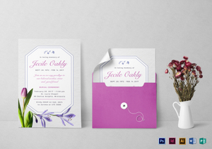 funeral invitation designs templates in word psd publisher