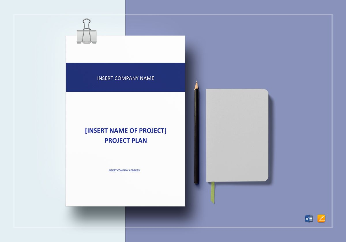 Project Plan Template In Word Google Docs Apple Pages - Google project plan template