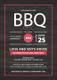 Summer BBQ Invitation Design Template