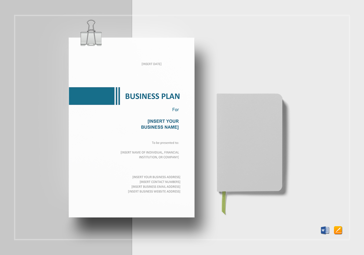 Simple business plan template in word google docs apple pages simple business plan template friedricerecipe Image collections