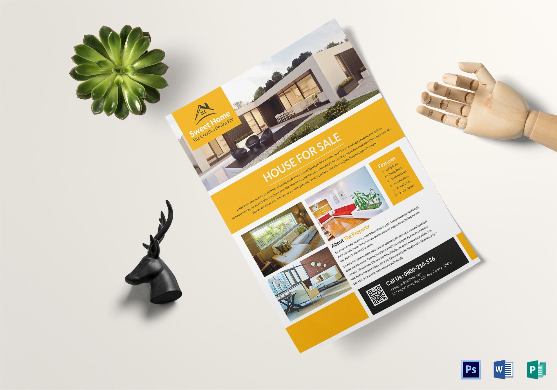 Custom Real Estate Flyer