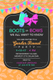 Boots or Bows Gender Reveal Invitation Template