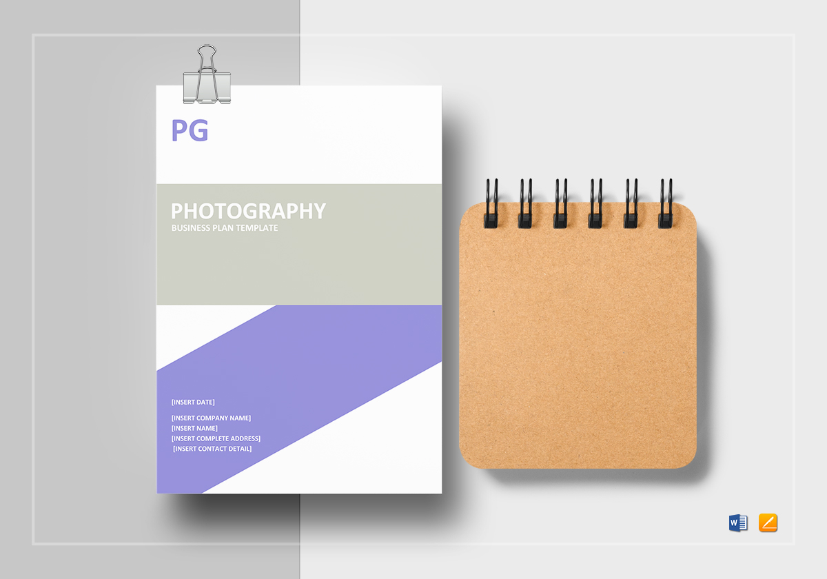 Photography Business Plan Template