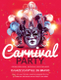 Carnival Party Flyer Design Template