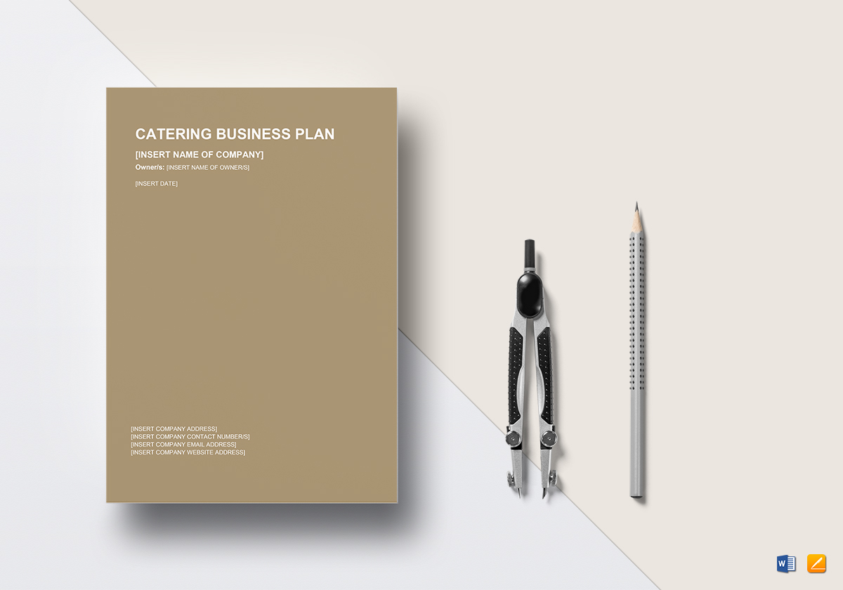 Catering Business Plan Template In Word Google Docs Apple Pages - Apple pages business plan template