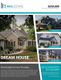 Dream Home Real Estate Flyer Template
