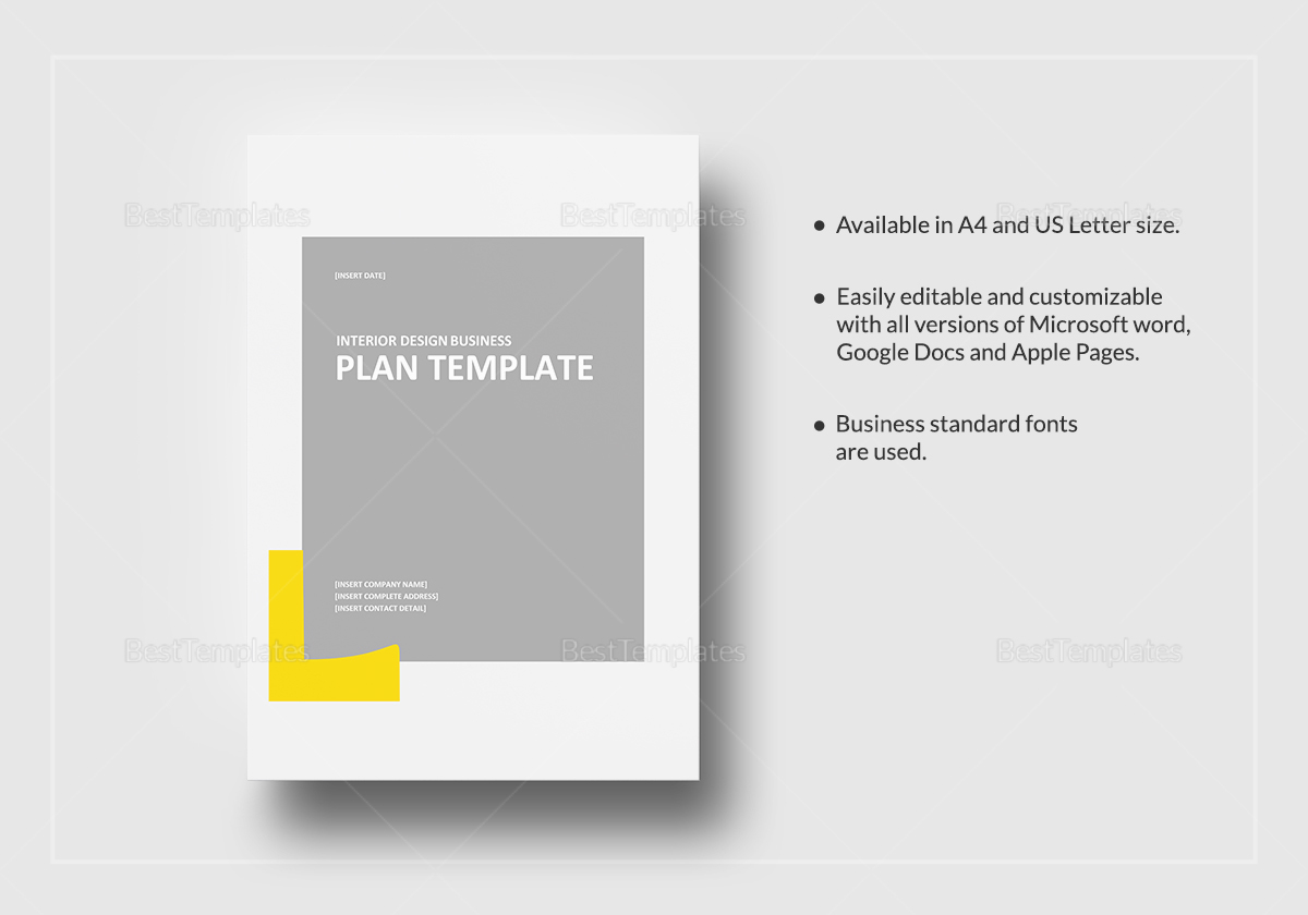 Interior Design Business Plan Template