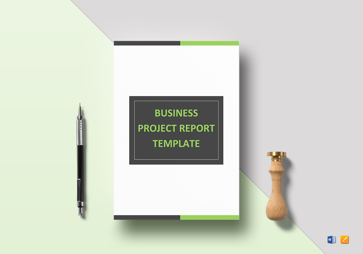 business project report template in word google docs apple pages