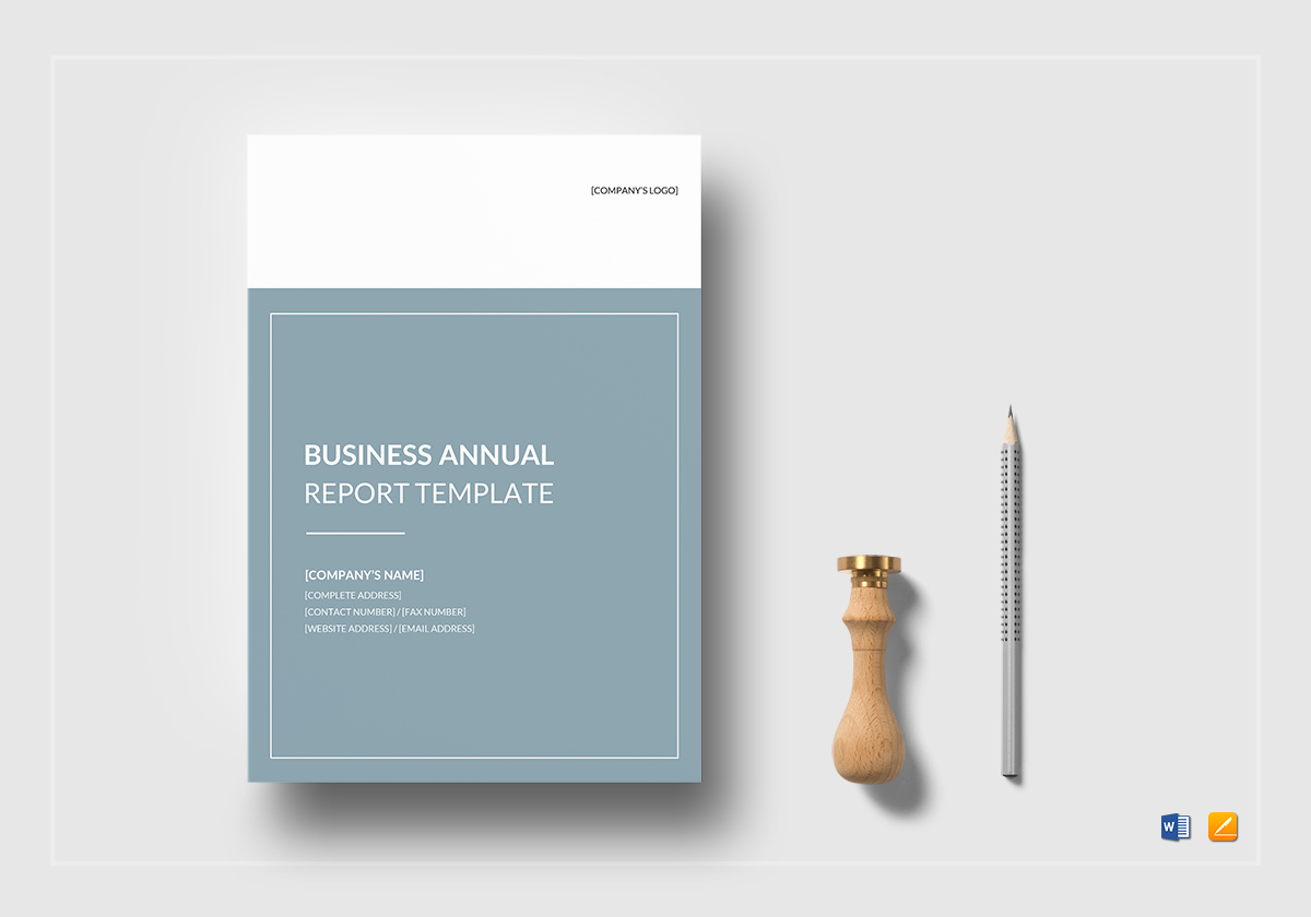 Business Annual Report Template in Word, Google Docs, Apple Pages