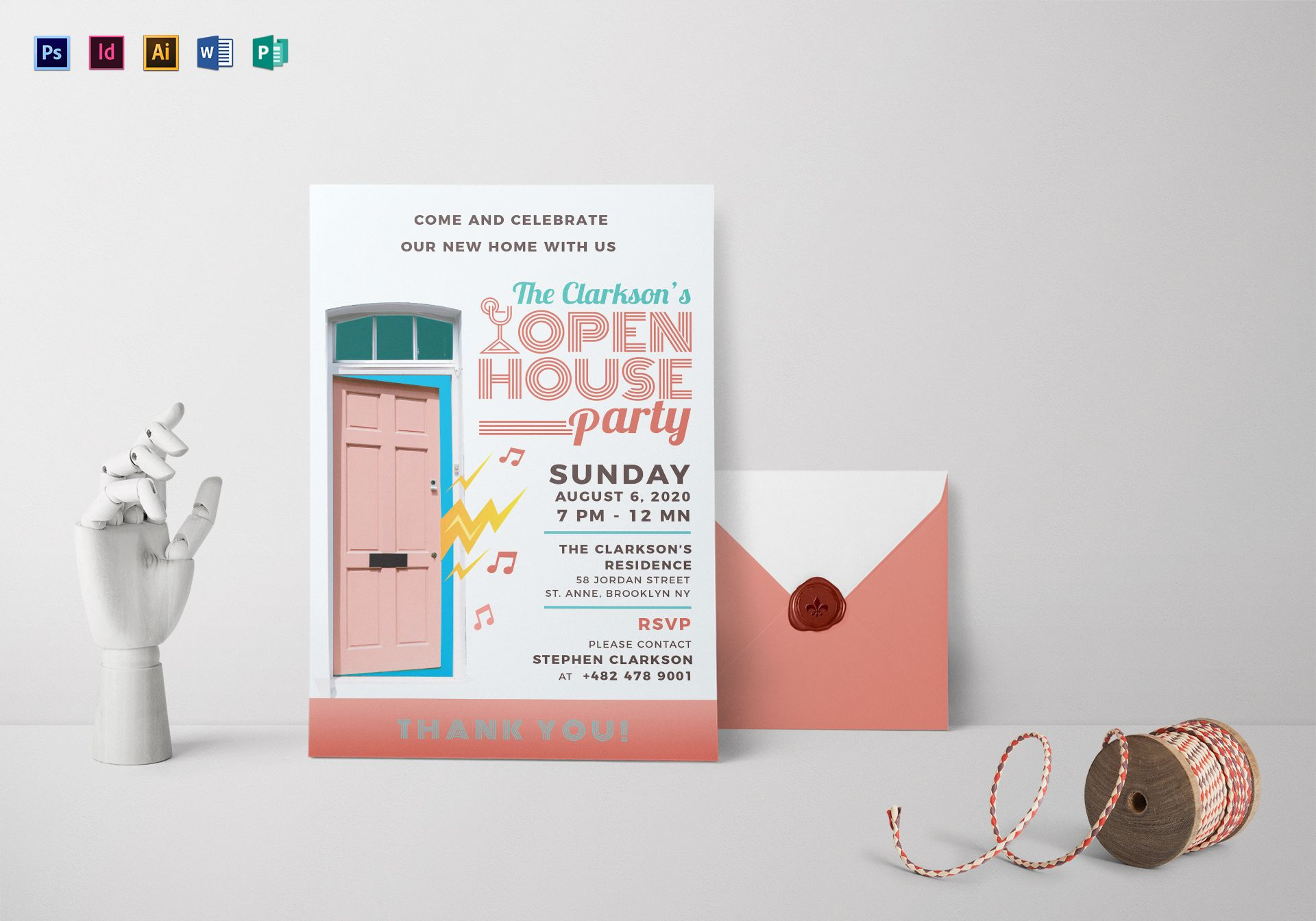 open house invitation templates