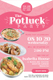 Potluck Party Invitation Template