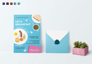 Breakfast invitation designs templates in word psd publisher sample breakfast invitation template stopboris Gallery
