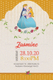 Little Princess Birthday Invitation