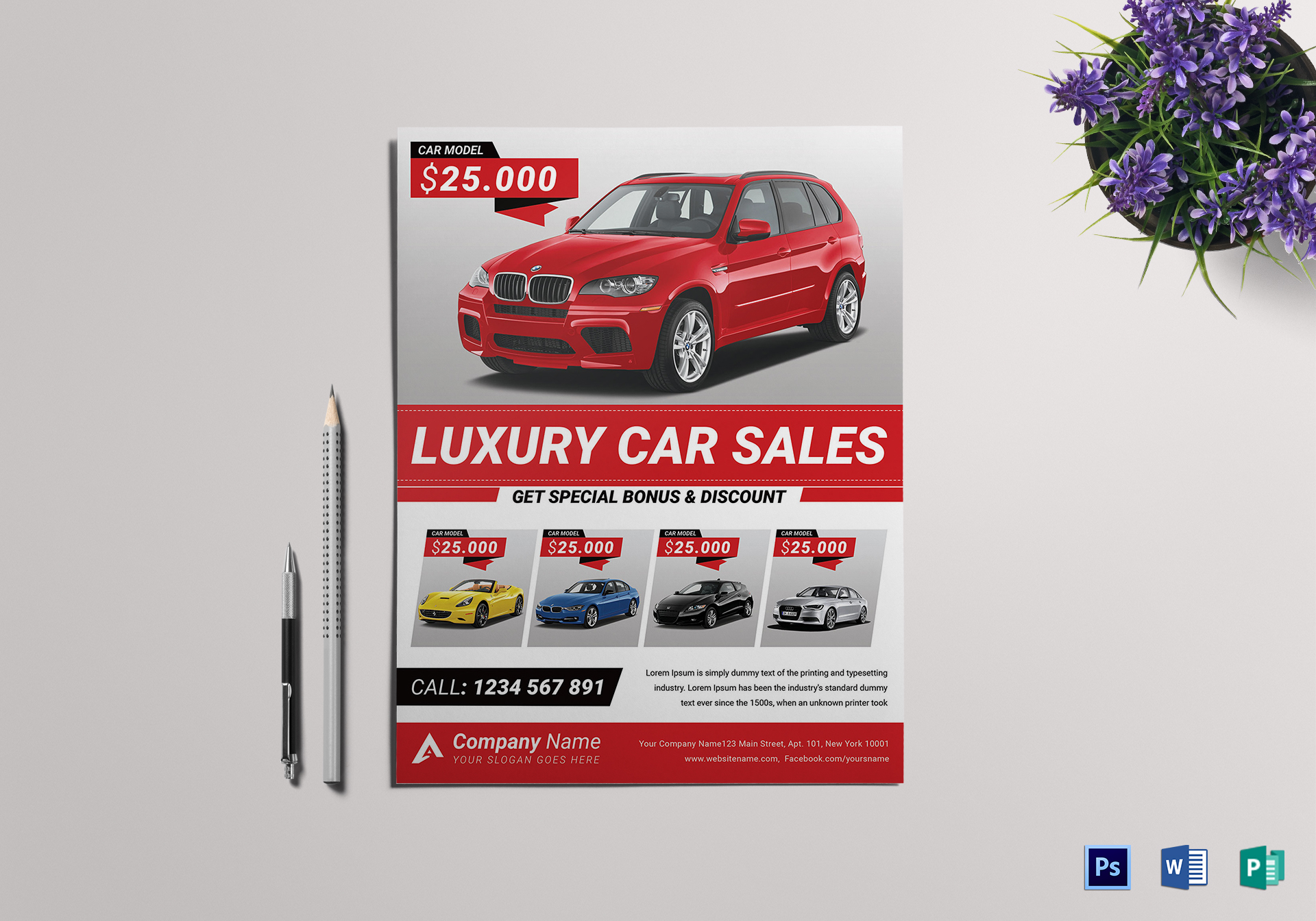 11 Car For Sale Template Pay Stub Template Car For Sale Flyers ...