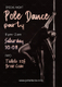 Pole Dance Party Flyer Template