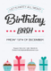 Sample Birthday Bash Flyer Template
