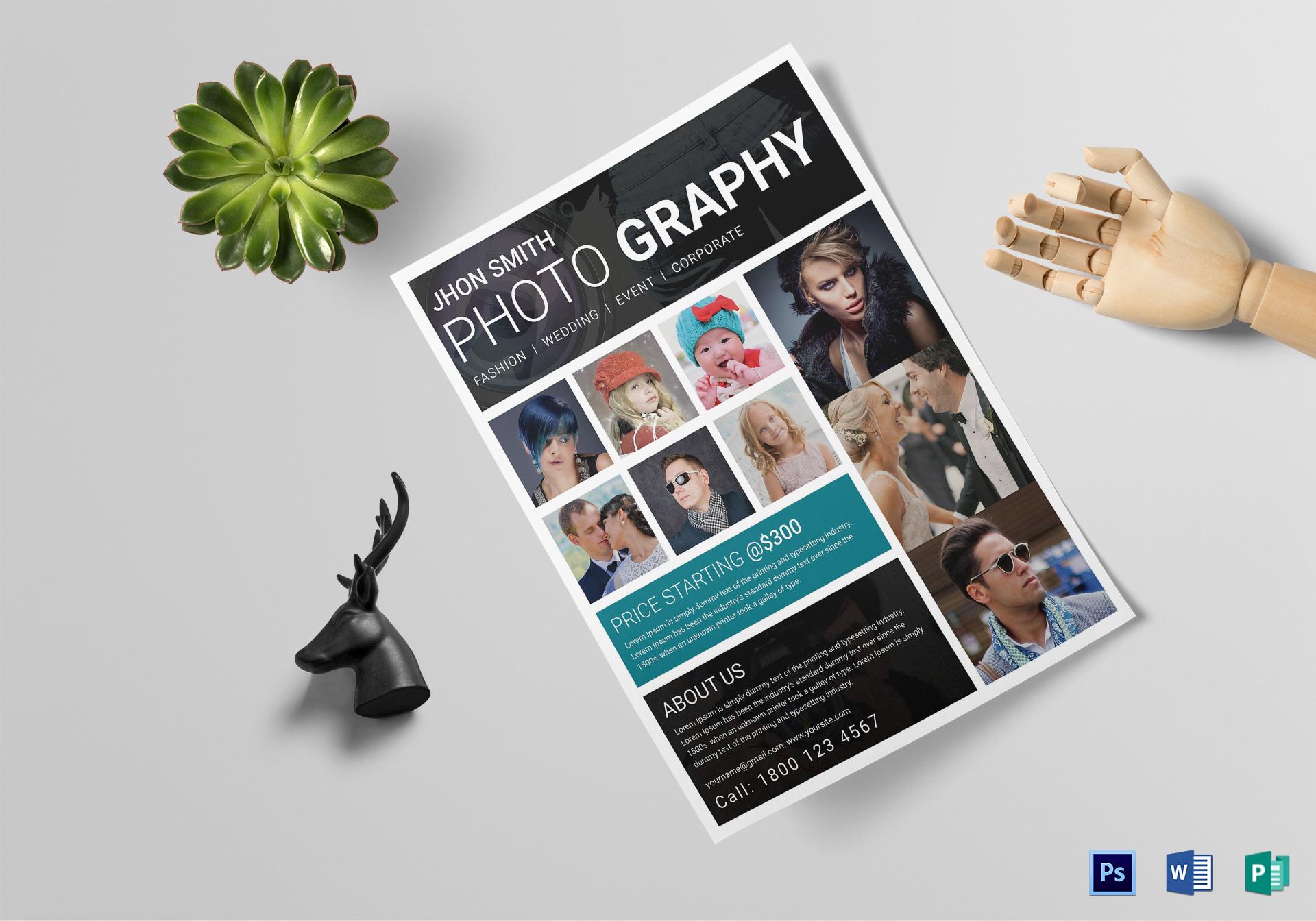 Modern Photography Flyer