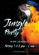 Jungle Party Flyer Template