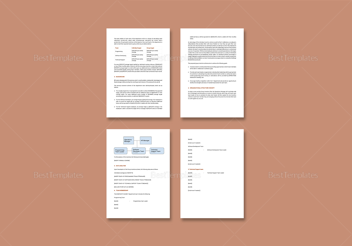 Sample IT Management Report Template