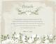 Vintage Wedding Details Card Template to Edit