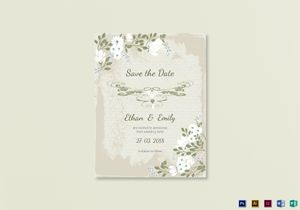 /3297/Vintage-Save-the-Date-Card-Template
