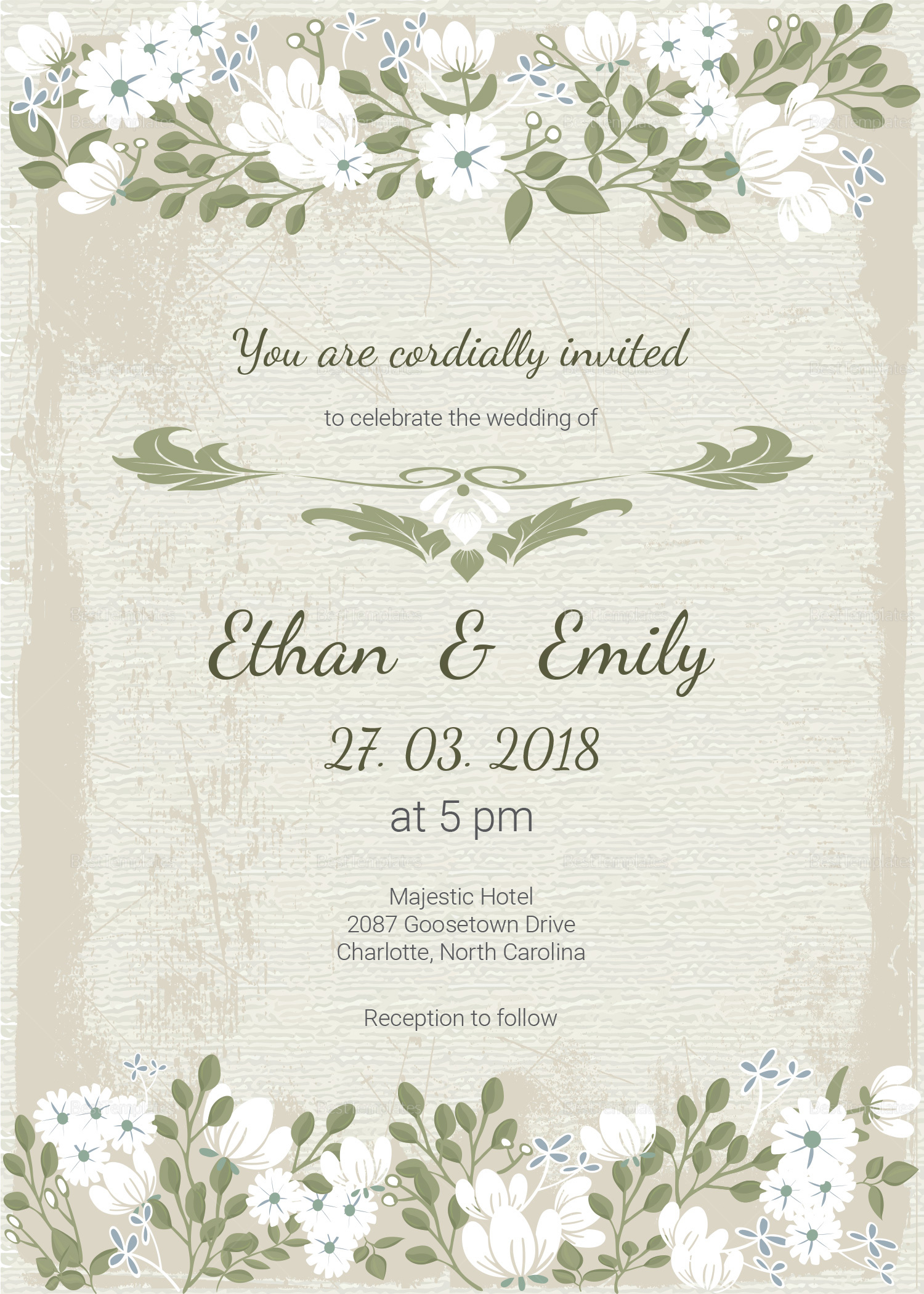 Einvitation Card Kalde Bwong Co