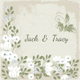 Vintage Wedding Place Card