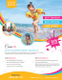 Pool Travel Flyer Template