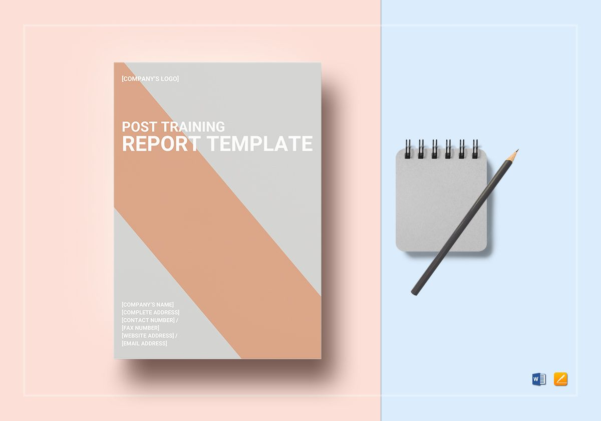 Post Training Report Template