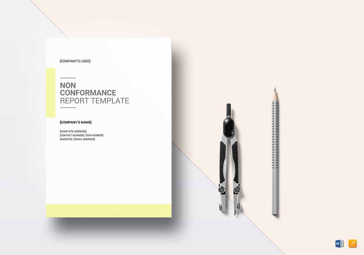 Non Conformance Report Template