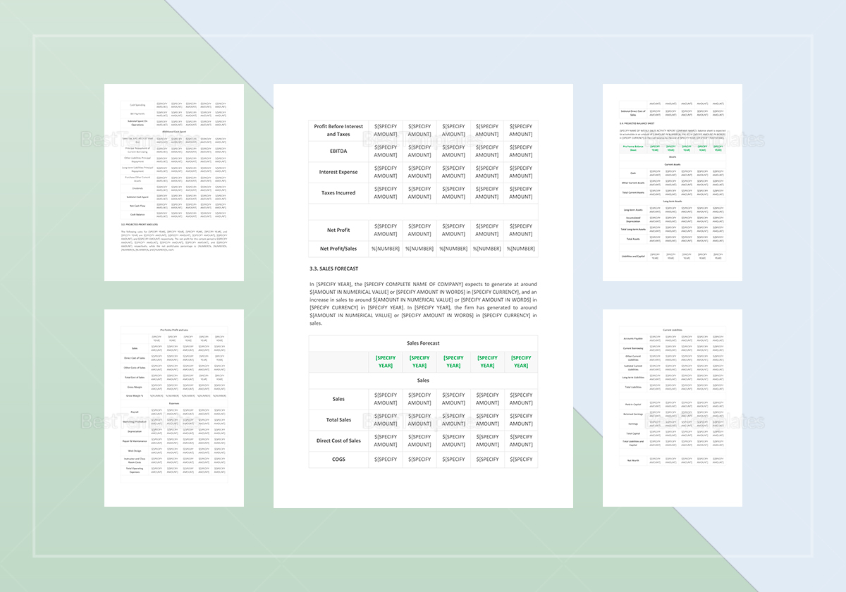 weekly sales activity report template in word google docs apple pages