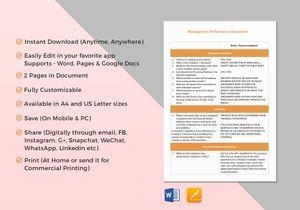 /3430/Worksheet-Evaluating-Management-Performance-F