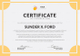 Internship Certificate of Completion Template
