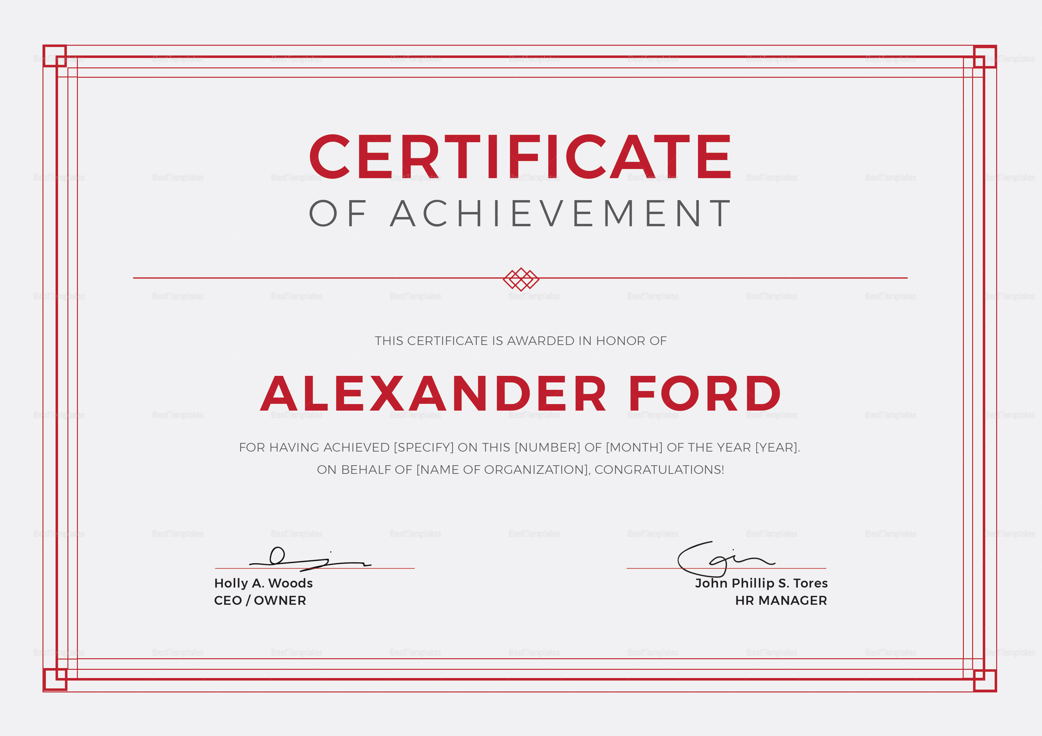 Multipurpose achievement certificate design template in psd word multipurpose achievement certificate template multipurpose achievement certificate template yelopaper Image collections