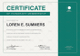Sample Honorary Membership Certificate Template