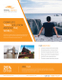 Island Travel Flyer Design Template